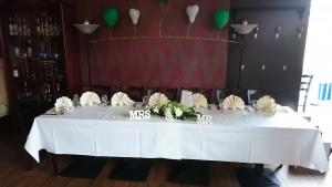 Brautpaar-Tisch